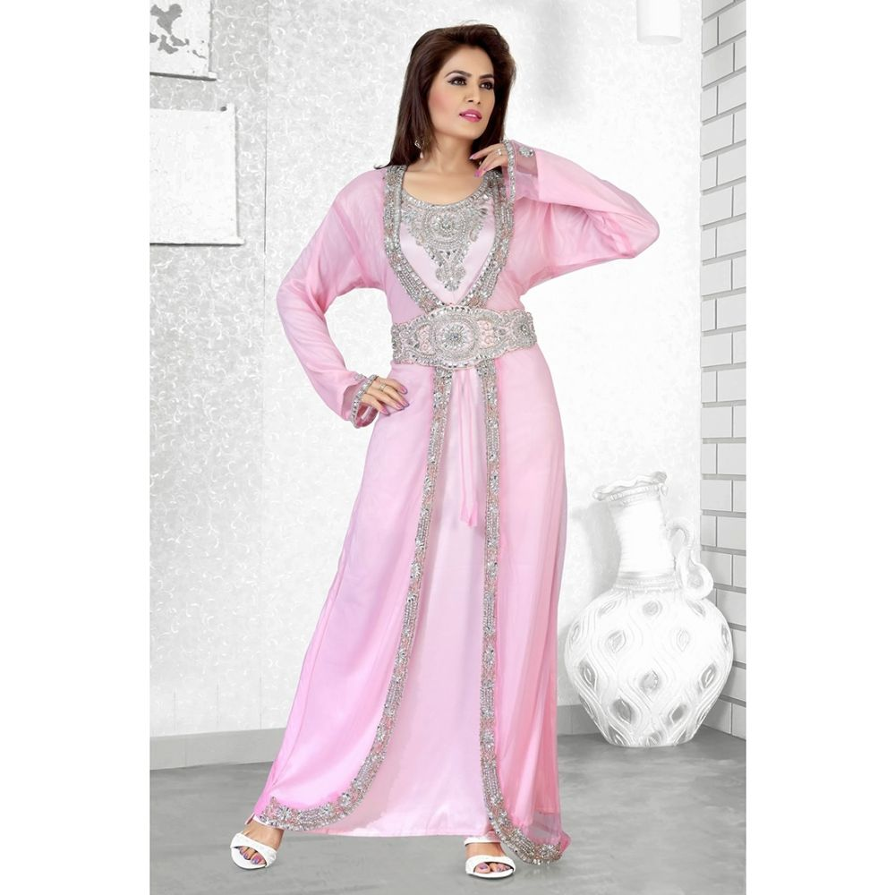 Womens Kaftan Pink color Popular