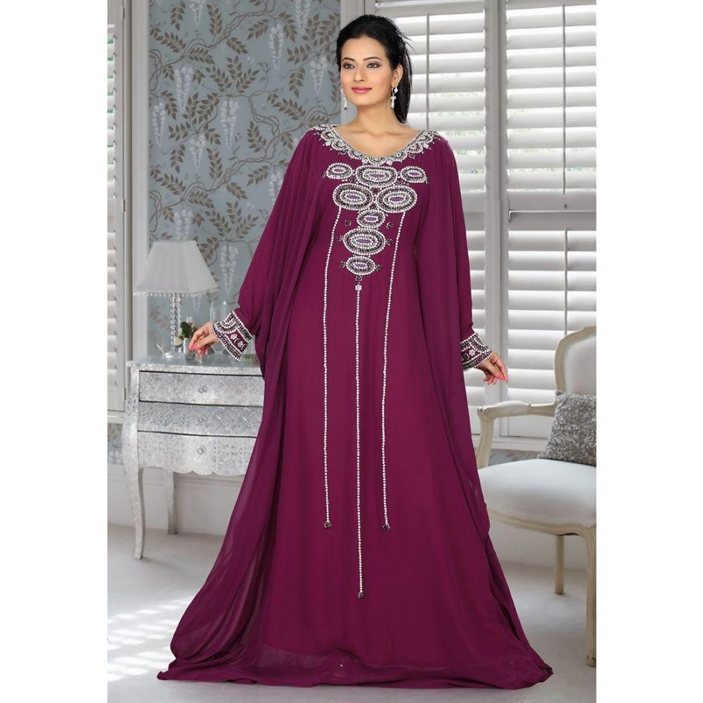 Womens Kaftan Purple color Fashionable