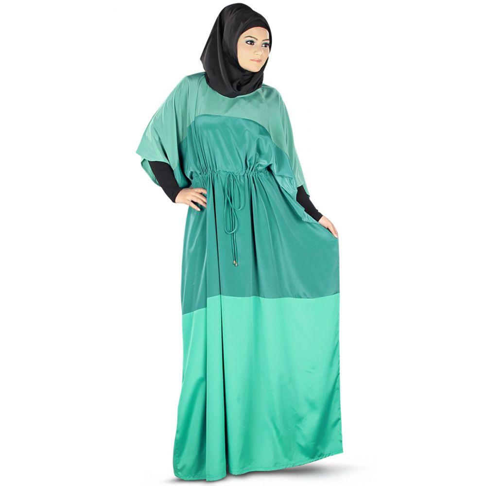 Womens Abaya Fancy Blue Color