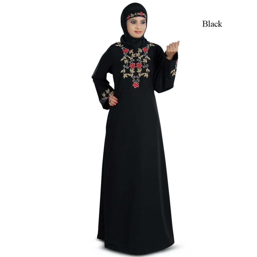 Womens Abaya Black Color Classy Nayyab