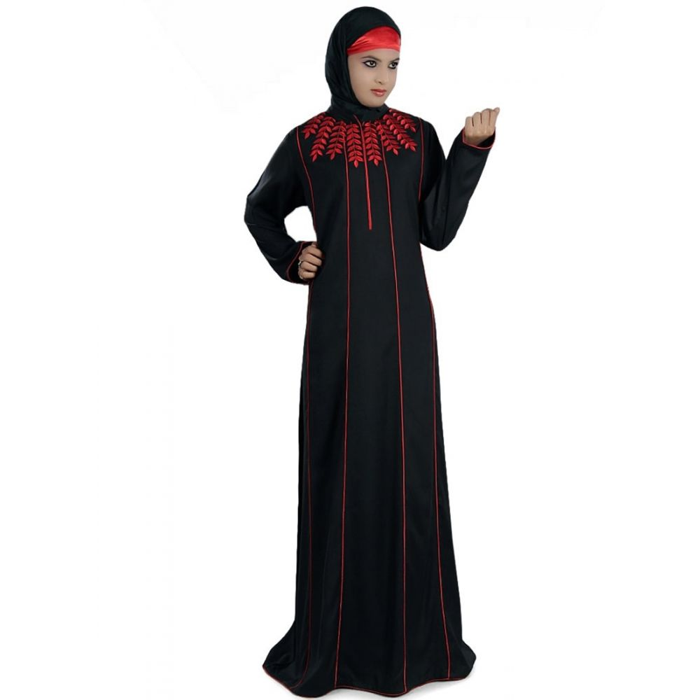 Womens Abaya Black Color Grand Walidah