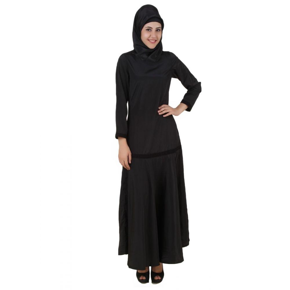 Womens Abaya Black Color Supercool