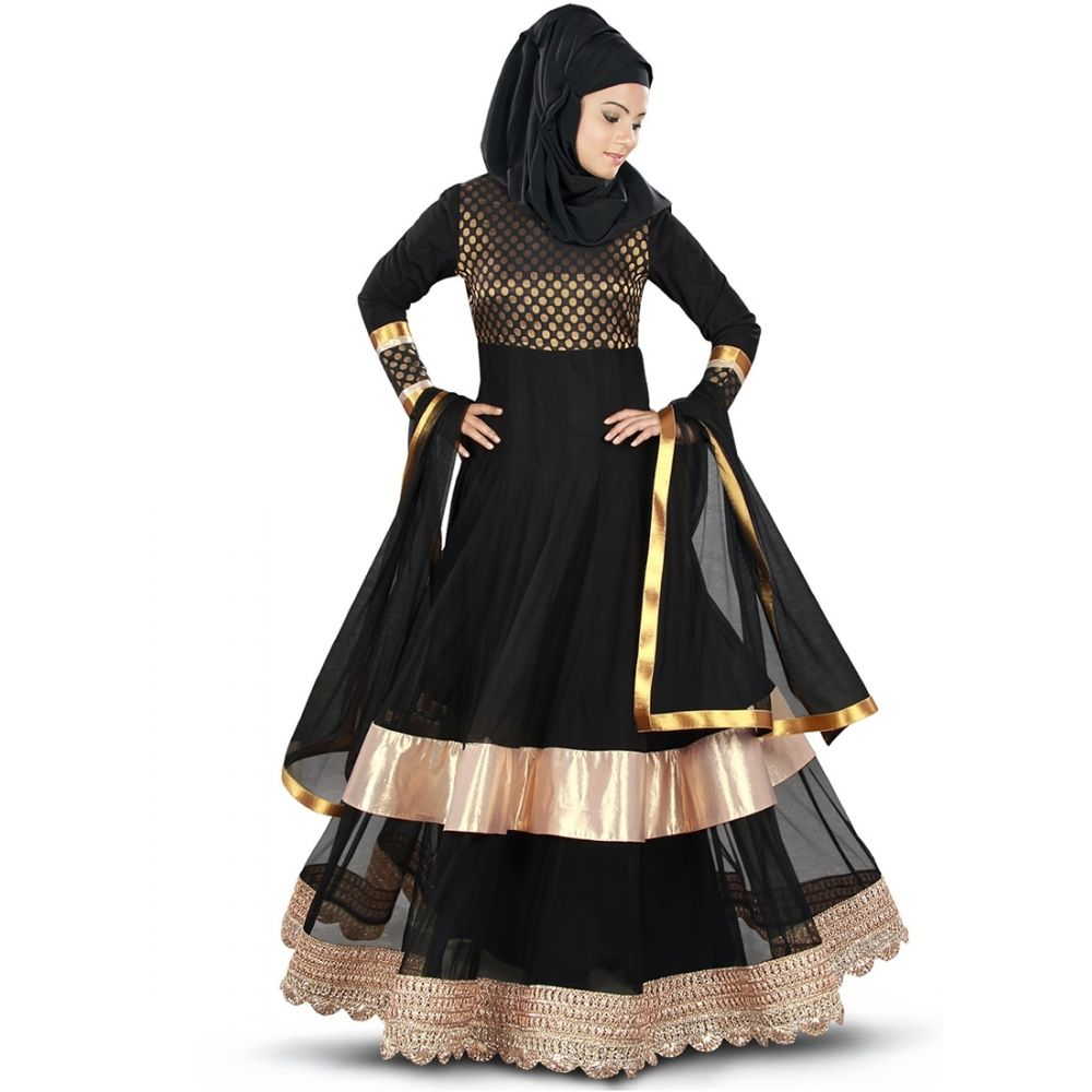 Womens Abaya Black Color Daily wear
