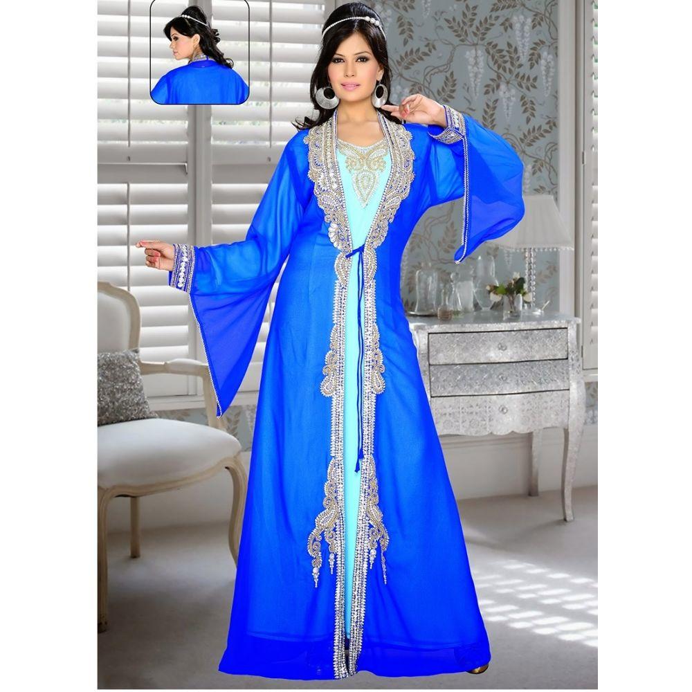 Womens Kaftan Blue color Fashionable