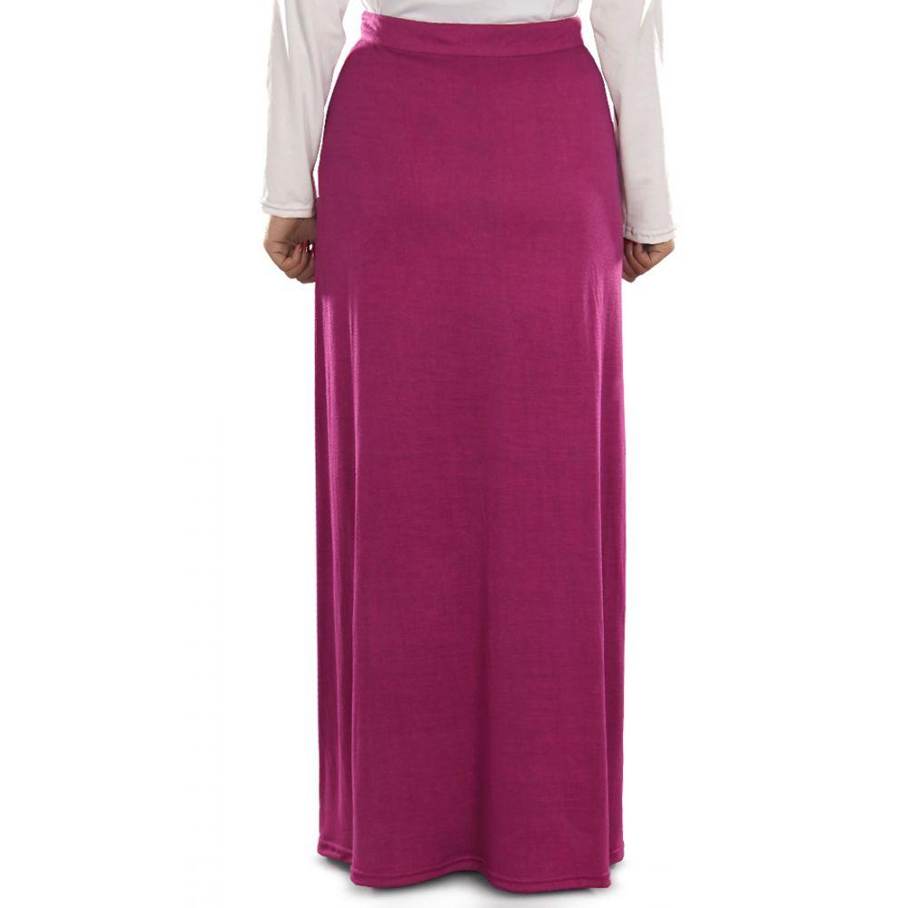 Pink color Skirt-Jersey Skirt