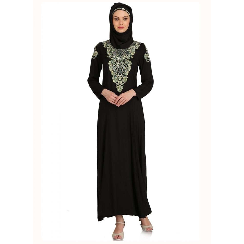 Womens Abaya Black Color Modest