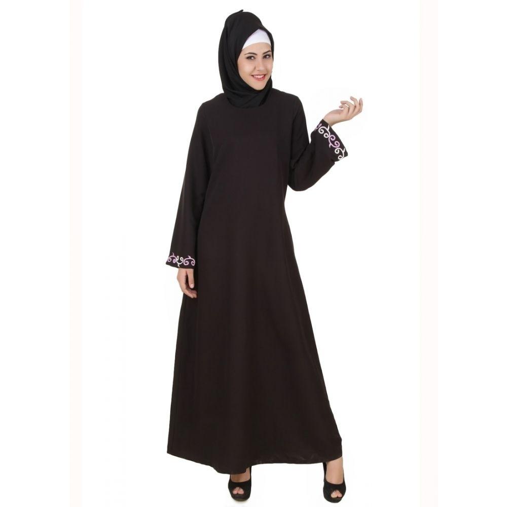Womens Abaya Black Color Beautiful