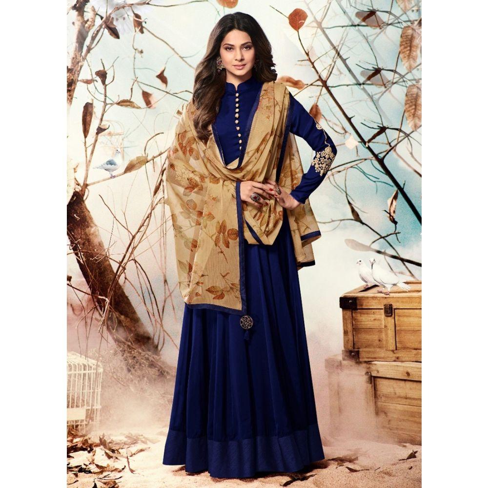 Blue color Party Wear-Other Salwar Kameez