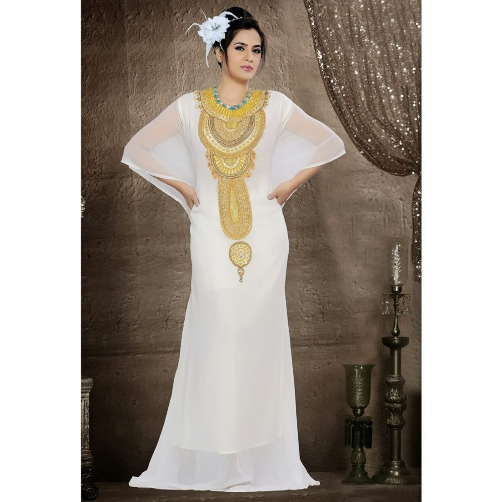 Womens Kaftan White color Stylist