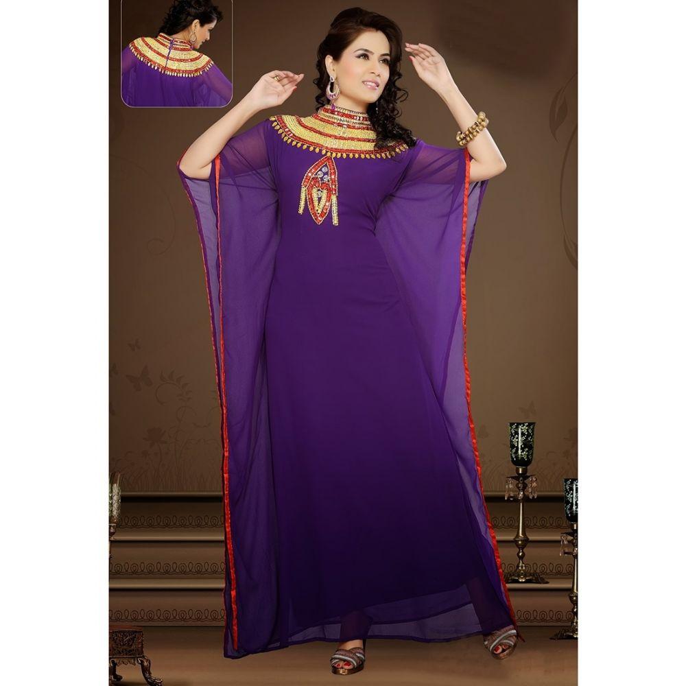 Womens Kaftan Multicoloured color Fashionable