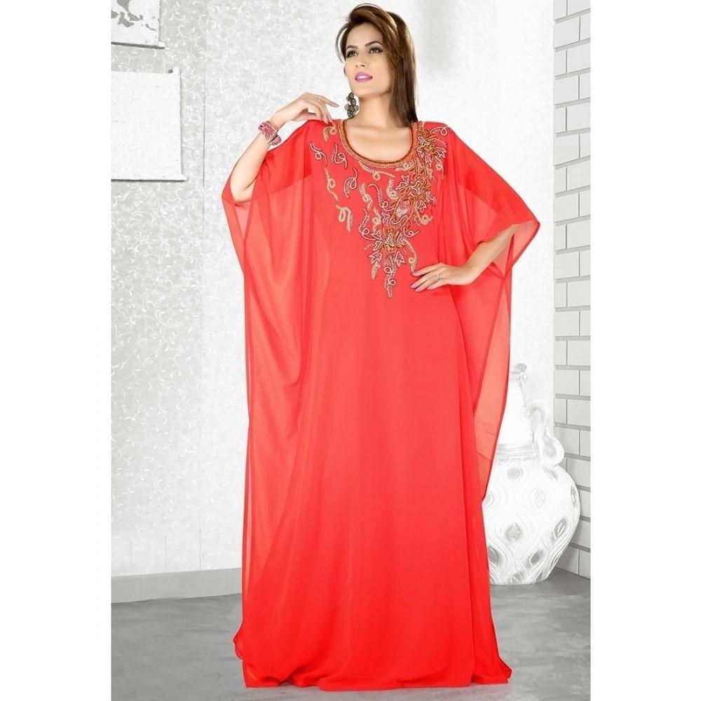 Womens Kaftan Red color Popular