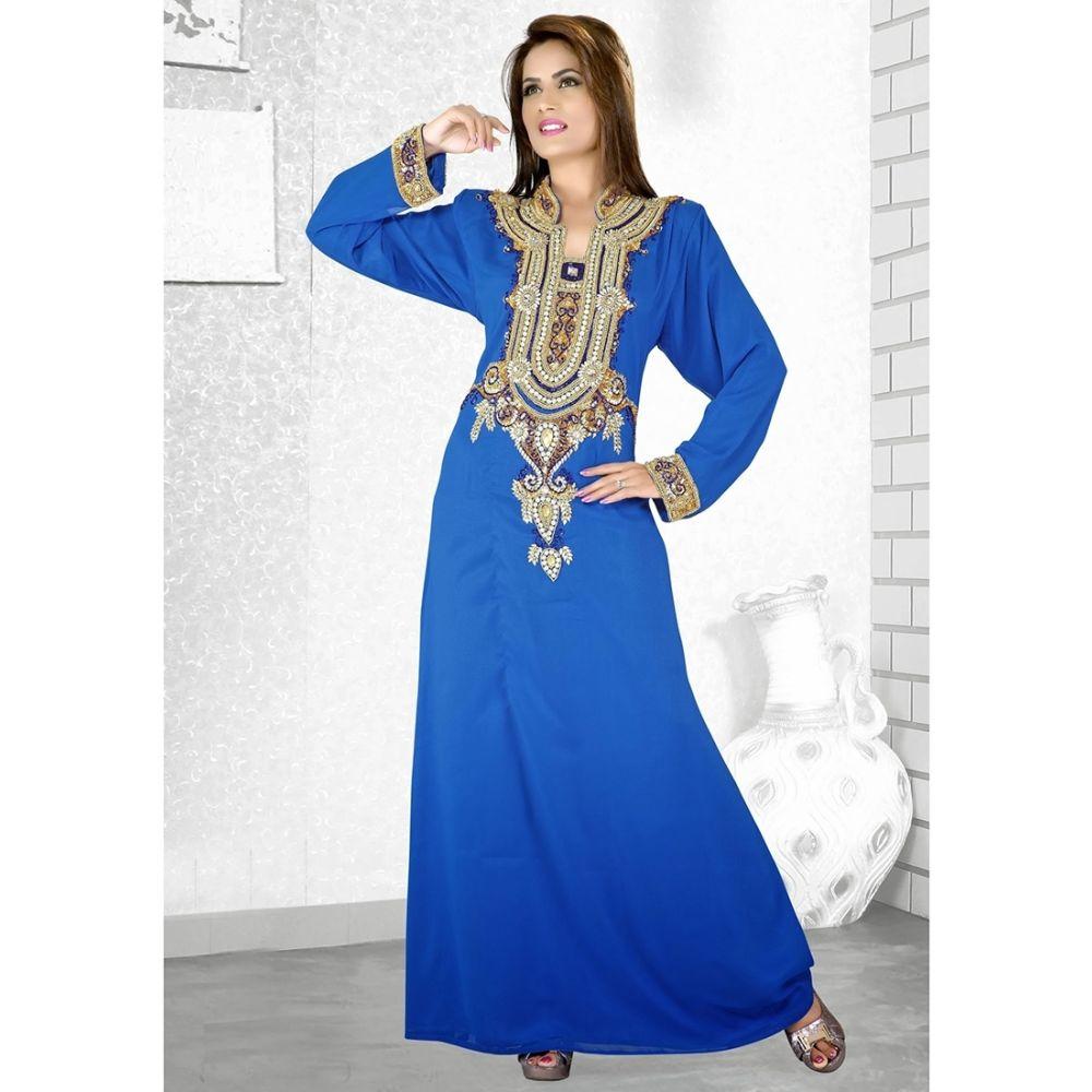 Womens Kaftan Blue color Stylist
