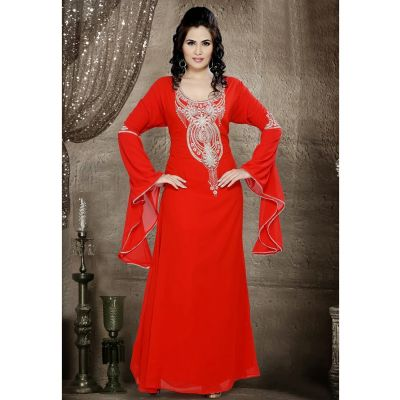 Womens Kaftan Red color Fashionable