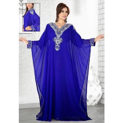 Womens Kaftan Blue color Popular