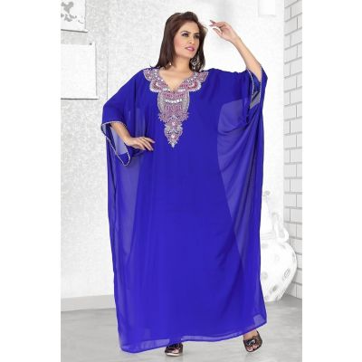 Womens Kaftan Blue color Fashionable