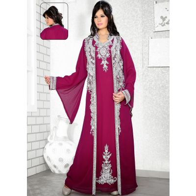 Womens Kaftan Purple color Stylist
