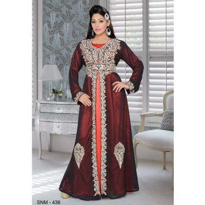 Black color Kaftan-Georgette Kaftan