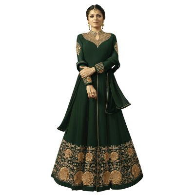 Classy Green Designer Salwar Kameez