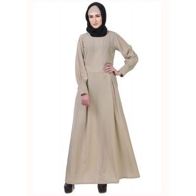 Womens Abaya Grey Color Beautiful