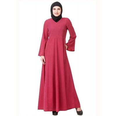 Womens Abaya Pink Color Beautiful