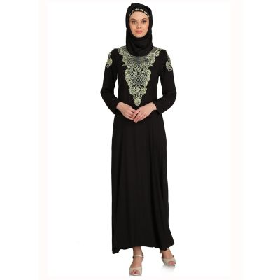 Womens Abaya Black Color Modest