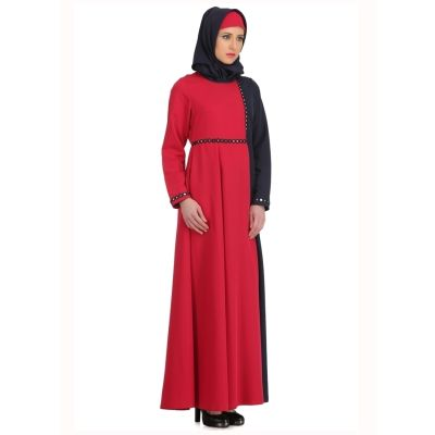 Womens Abaya Blue Color Graceful