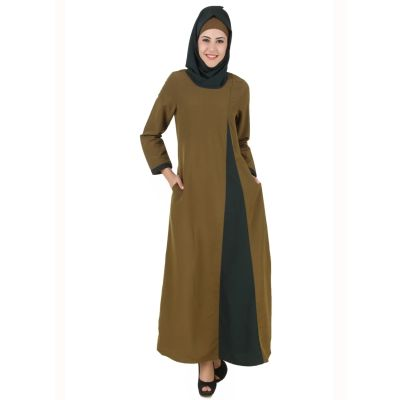 Womens Abaya Green Color Modest