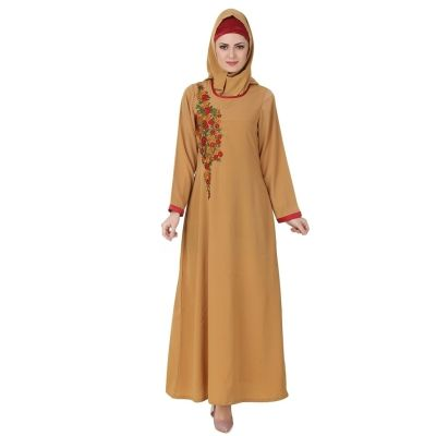 Womens Abaya Beige Color Rubiya
