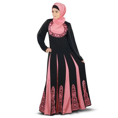 Womens Abaya Black Color Graceful