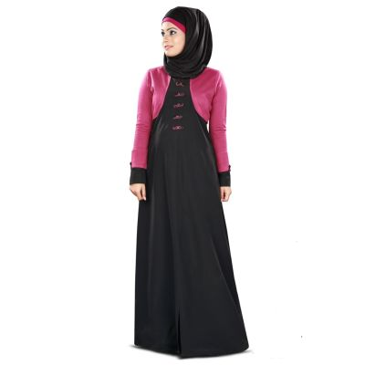 Womens Abaya Black Color Attractive