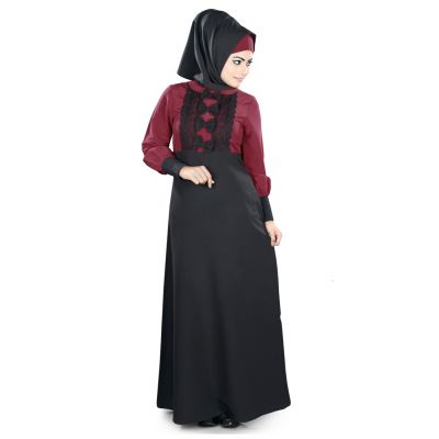 Womens Abaya Black Color Formal