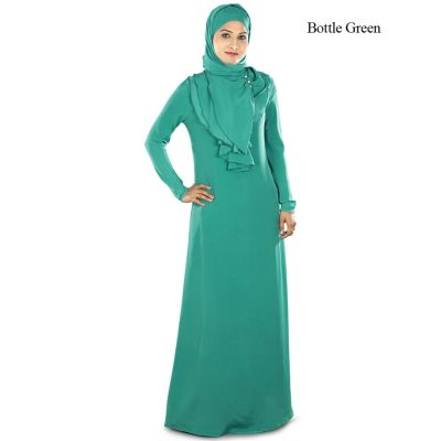 Womens Abaya Green Color Daily wear