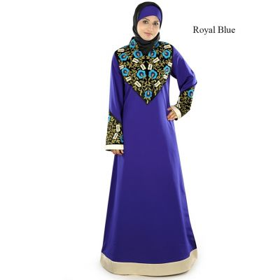 Womens Abaya  Beautiful Blue Color