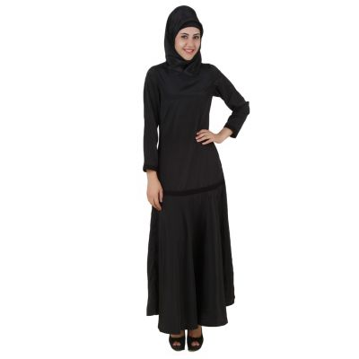 Womens Abaya Black Color Supercool
