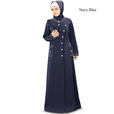 Womens Abaya Blue Color Marvelous