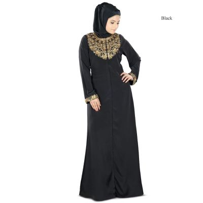 Womens Abaya Black Color Casual wear