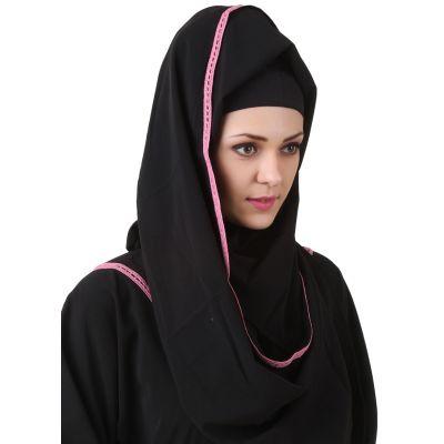 Black color Designer-Other Hijab