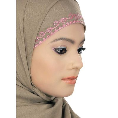 Beige color Designer-Other Hijab