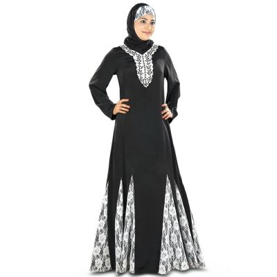Womens Abaya White Color Daily wear