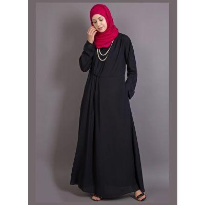 Womens Abaya Black Color Formal wear