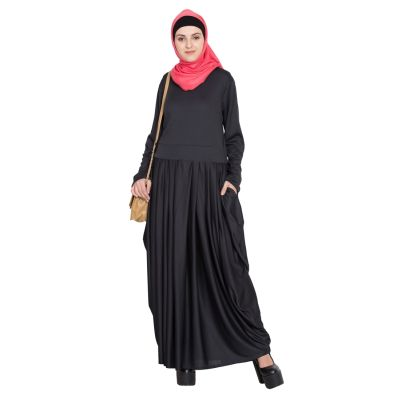 Womens Abaya Black Color Designer wear
