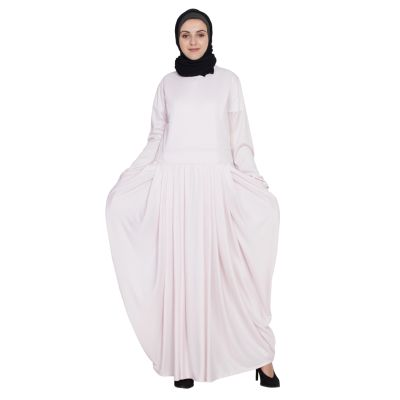 Womens Abaya Pink Color Daily wear