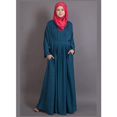Womens Abaya Green Color Daily wear