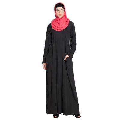 Womens Abaya Black Color Graceful
