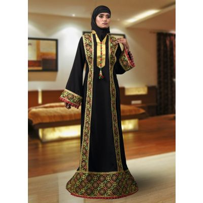 Abaya Maxi Black Color