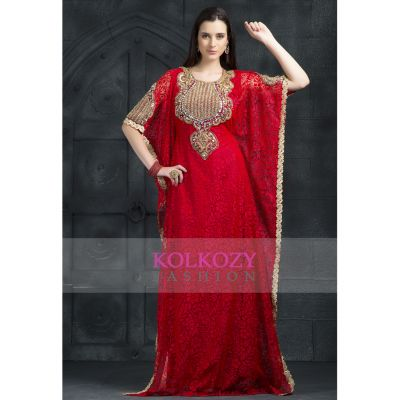 Red color Kaftan-Other Kaftan