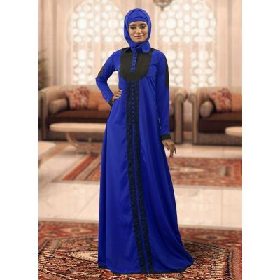 Blue Color Evening Dress