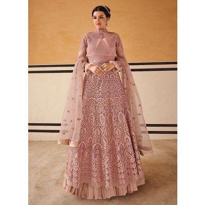 Vivacious Rose Pink Salwar Kameez