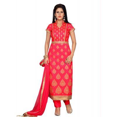 Blue color Party Wear Rmd Salwar-Silk Salwar Kameez