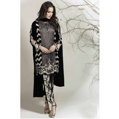 Women Salwar Kameez Black color Straight Suits